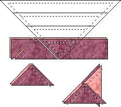 Quarter Square Triangle