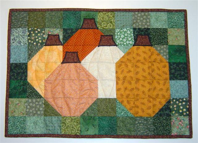 Pumpkin Patch picture quilt