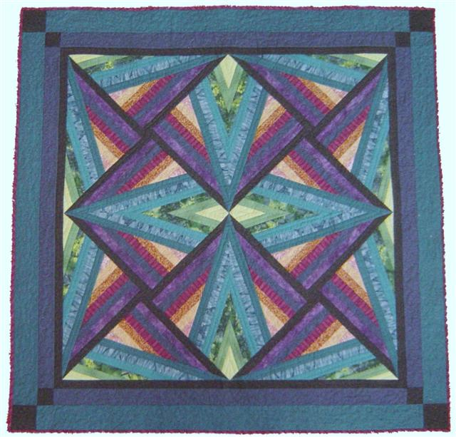 Midnight Sun quilt