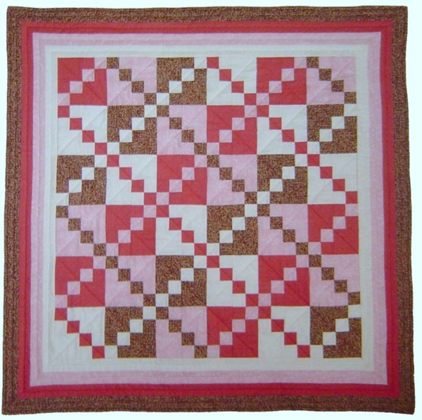 Four in Four quilt