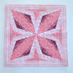 Quarter Square Triangle from strips